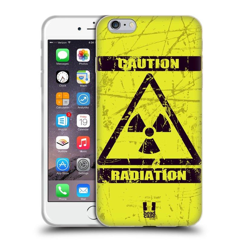 Silikonové pouzdro na mobil Apple iPhone 6 Plus a 6S Plus HEAD CASE RADIACE (Silikonový kryt či obal na mobilní telefon Apple iPhone 6 Plus a 6S Plus)