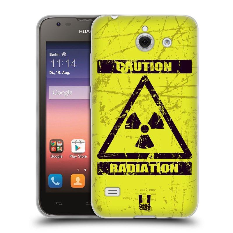Silikonové pouzdro na mobil Huawei Ascend Y550 HEAD CASE RADIACE (Silikonový kryt či obal na mobilní telefon Huawei Ascend Y550)