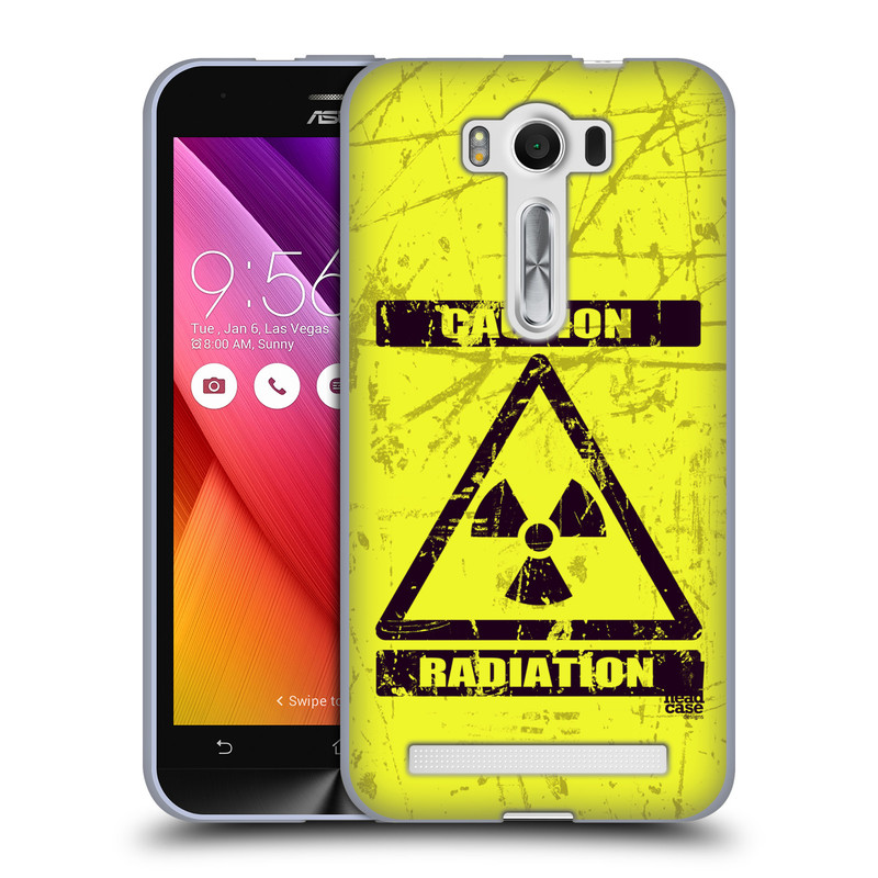 "Silikonové pouzdro na mobil Asus ZenFone 2 Laser ZE500KL HEAD CASE RADIACE (Silikonový kryt či obal na mobilní telefon Asus ZenFone 2 Laser ZE500KL s 5"" displejem)"