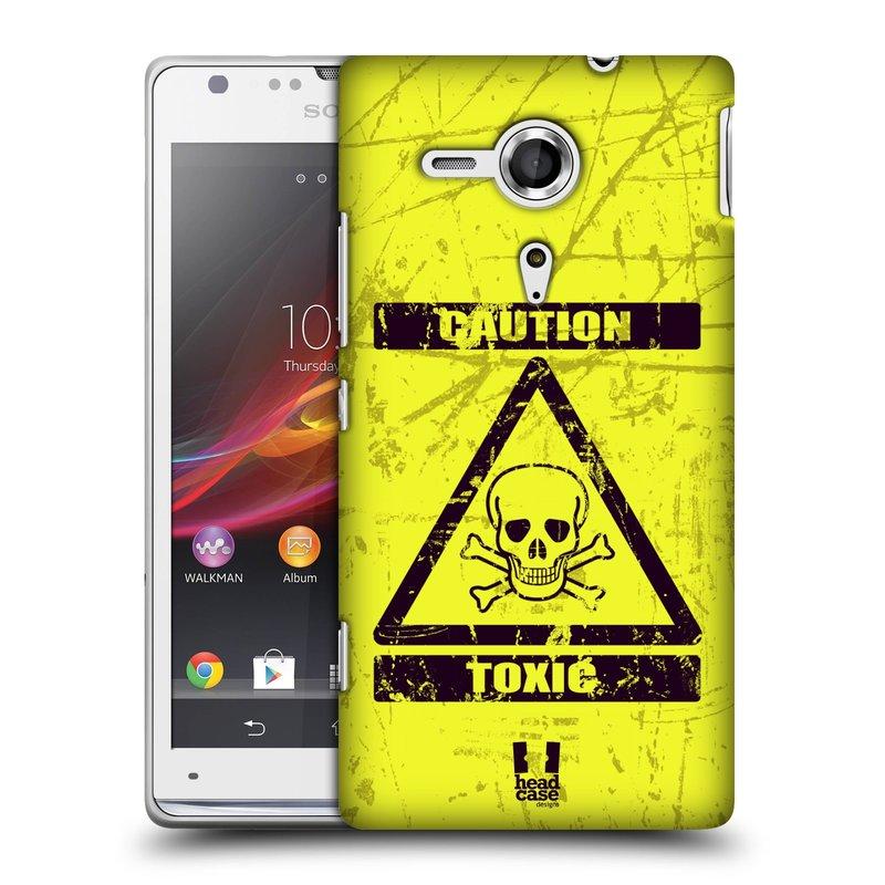 Plastové pouzdro na mobil Sony Xperia SP C5303 HEAD CASE TOXIC (Kryt či obal na mobilní telefon Sony Xperia SP )