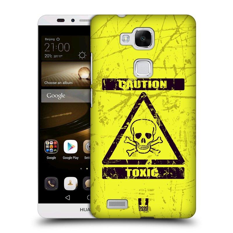 Plastové pouzdro na mobil Huawei Ascend Mate 7 HEAD CASE TOXIC (Kryt či obal na mobilní telefon Huawei Ascend Mate7)