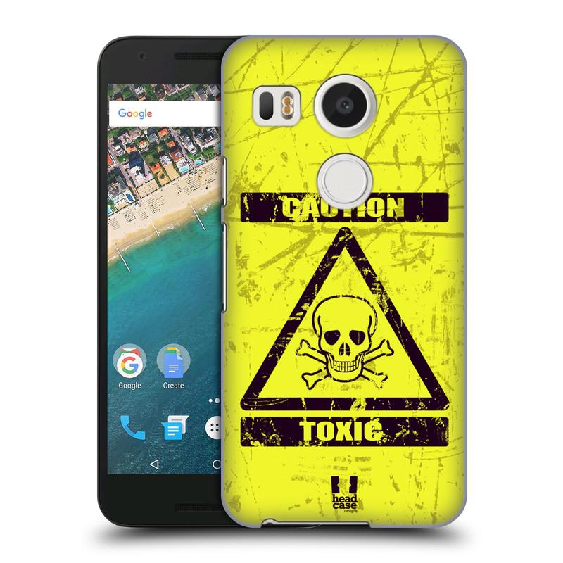 Plastové pouzdro na mobil LG Nexus 5X HEAD CASE TOXIC (Kryt či obal na mobilní telefon LG NEXUS 5X H791)