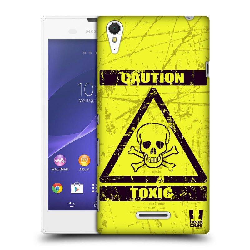 Plastové pouzdro na mobil Sony Xperia T3 D5103 HEAD CASE TOXIC (Kryt či obal na mobilní telefon Sony Xperia T3 )