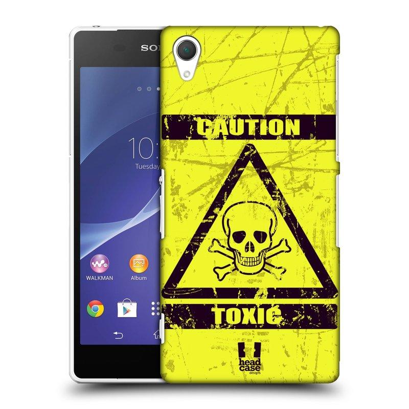 Plastové pouzdro na mobil Sony Xperia Z2 D6503 HEAD CASE TOXIC (Kryt či obal na mobilní telefon Sony Xperia Z2 )