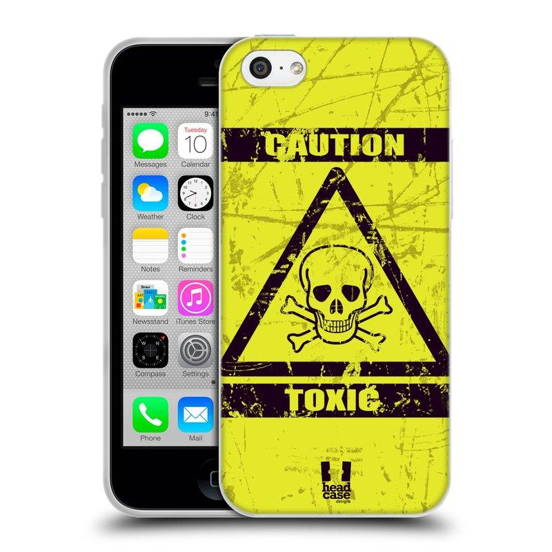Silikonové pouzdro na mobil Apple iPhone 5C HEAD CASE TOXIC (Silikonový kryt či obal na mobilní telefon Apple iPhone 5C)