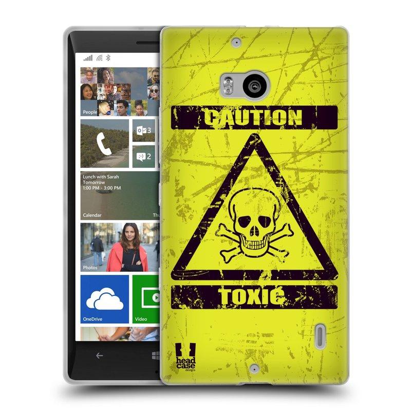 Silikonové pouzdro na mobil Nokia Lumia 930 HEAD CASE TOXIC (Silikonový kryt či obal na mobilní telefon Nokia Lumia 930)