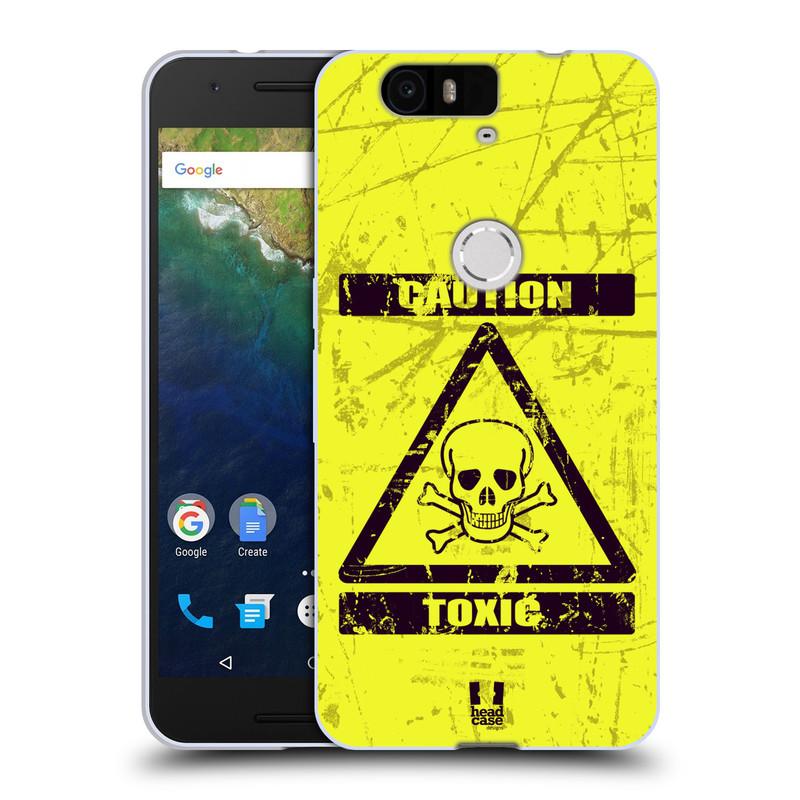 Silikonové pouzdro na mobil Huawei Nexus 6P HEAD CASE TOXIC (Silikonový kryt či obal na mobilní telefon Huawei Nexus 6P)