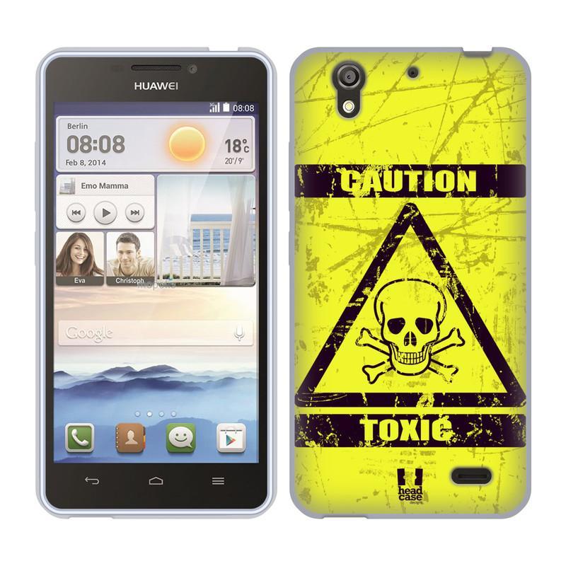 Silikonové pouzdro na mobil Huawei Ascend Y530 HEAD CASE TOXIC (Silikonový kryt či obal na mobilní telefon Huawei Ascend Y530)