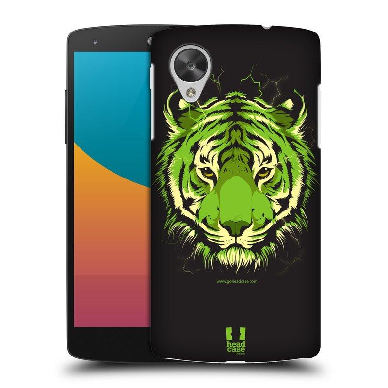 Plastové pouzdro na mobil LG Nexus 5 HEAD CASE BENGÁLSKÝ TYGR (Kryt či obal na mobilní telefon LG Google Nexus 5 D821)