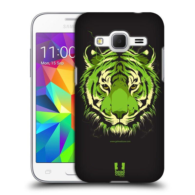 Plastové pouzdro na mobil Samsung Galaxy Core Prime LTE HEAD CASE BENGÁLSKÝ TYGR (Kryt či obal na mobilní telefon Samsung Galaxy Core Prime LTE SM-G360)