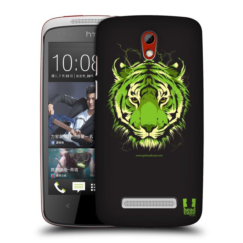 Plastové pouzdro na mobil HTC Desire 500 HEAD CASE BENGÁLSKÝ TYGR (Kryt či obal na mobilní telefon HTC Desire 500)