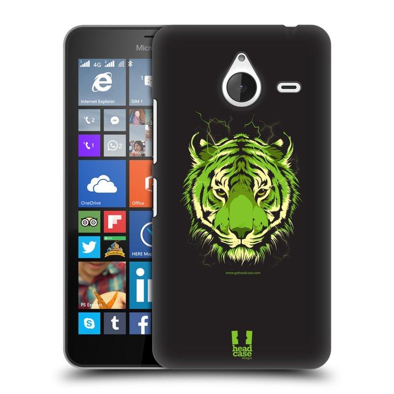 Plastové pouzdro na mobil Microsoft Lumia 640 XL HEAD CASE BENGÁLSKÝ TYGR (Kryt či obal na mobilní telefon Microsoft Lumia 640 XL)