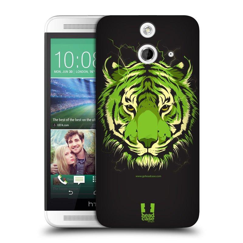 Plastové pouzdro na mobil HTC ONE E8 HEAD CASE BENGÁLSKÝ TYGR (Kryt či obal na mobilní telefon HTC ONE E8)