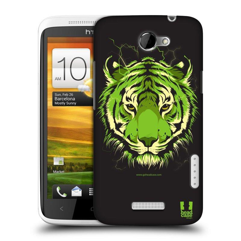 Plastové pouzdro na mobil HTC ONE X HEAD CASE BENGÁLSKÝ TYGR (Kryt či obal na mobilní telefon HTC ONE X)