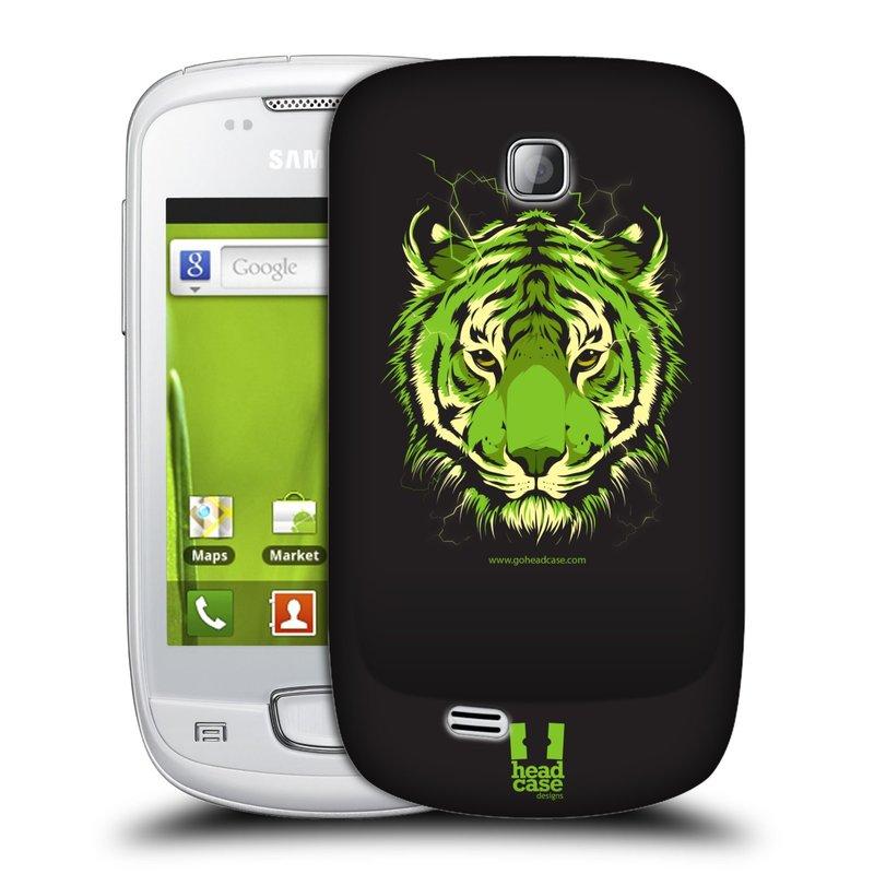 Plastové pouzdro na mobil Samsung Galaxy Mini HEAD CASE BENGÁLSKÝ TYGR (Kryt či obal na mobilní telefon Samsung Galaxy Mini GT-S5570 / GT-S5570i)