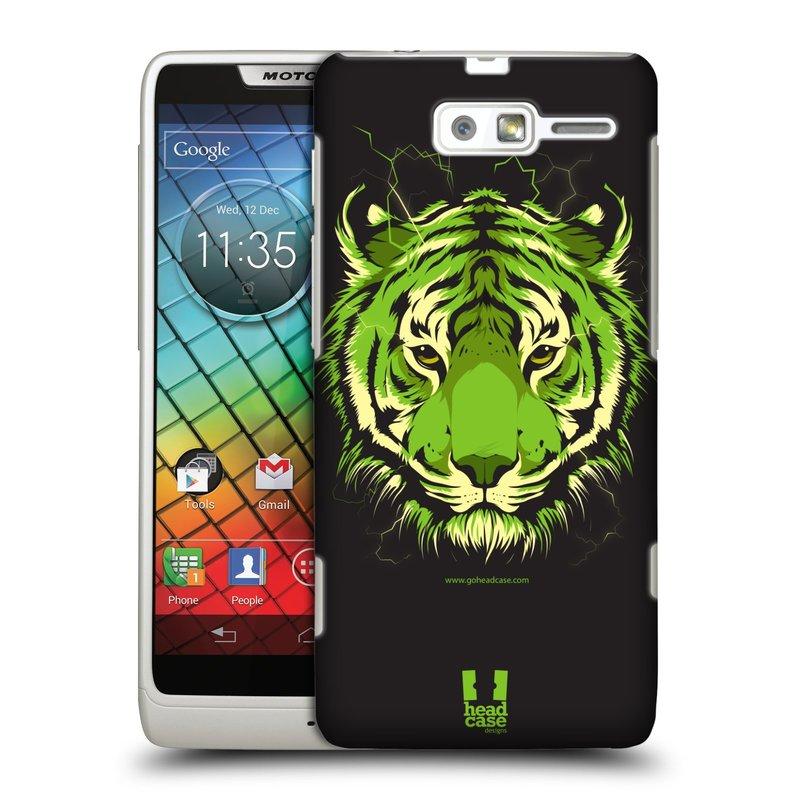 Plastové pouzdro na mobil Motorola Razr i XT890 HEAD CASE BENGÁLSKÝ TYGR (Kryt či obal na mobilní telefon Motorola Razr i XT890)