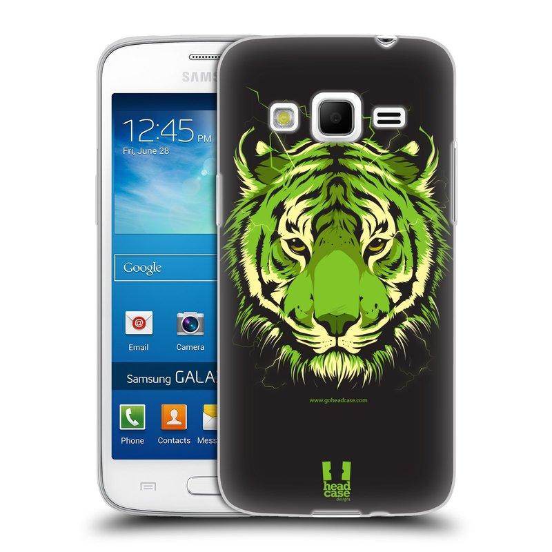 Silikonové pouzdro na mobil Samsung Galaxy Express 2 HEAD CASE BENGÁLSKÝ TYGR (Silikonový kryt či obal na mobilní telefon Samsung Galaxy Express 2 SM-G3815)