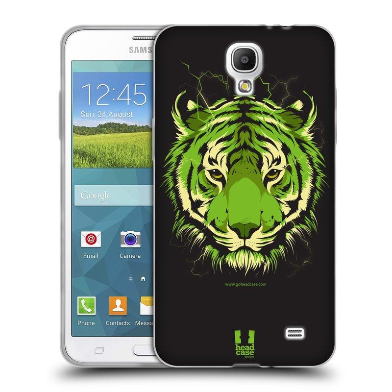 Silikonové pouzdro na mobil Samsung Galaxy Grand Mega 2 HEAD CASE BENGÁLSKÝ TYGR (Silikonový kryt či obal na mobilní telefon Samsung Galaxy Grand Mega 2 SM-G750)