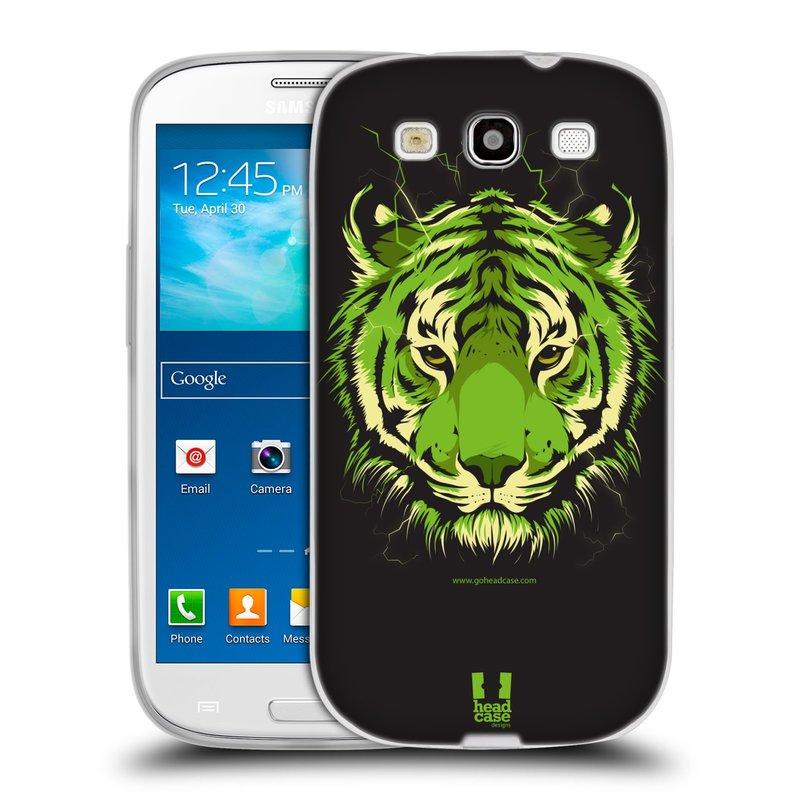 Silikonové pouzdro na mobil Samsung Galaxy S3 Neo HEAD CASE BENGÁLSKÝ TYGR (Silikonový kryt či obal na mobilní telefon Samsung Galaxy S3 Neo GT-i9301i)