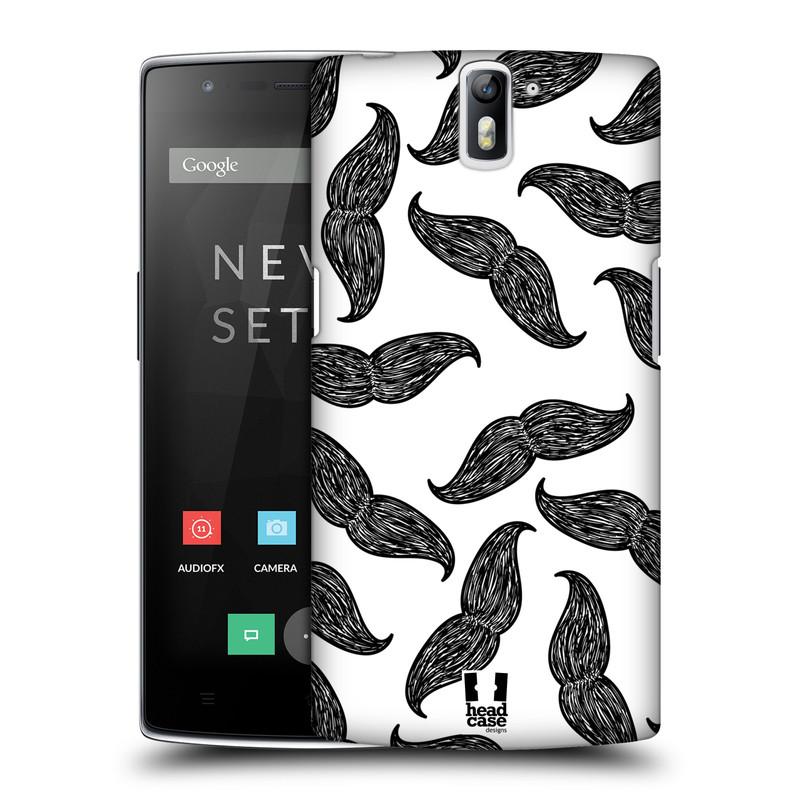 Plastové pouzdro na mobil OnePlus One HEAD CASE HIPSTER KNÍRY (Kryt či obal na mobilní telefon OnePlus One)