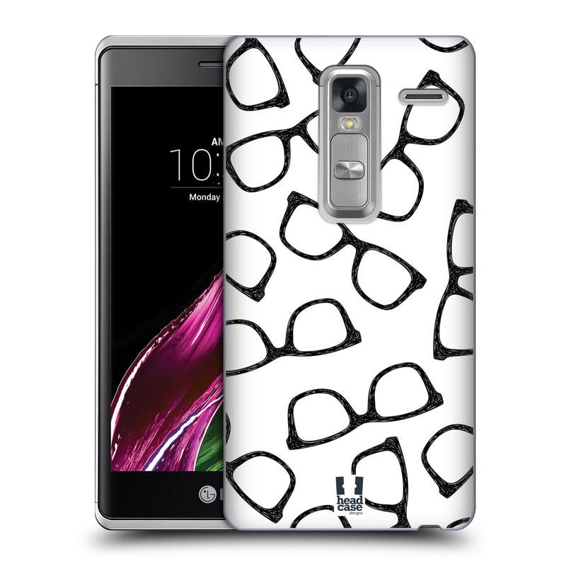 Plastové pouzdro na mobil LG Zero HEAD CASE HIPSTER BRÝLE (Kryt či obal na mobilní telefon LG Zero H650E / Classic)