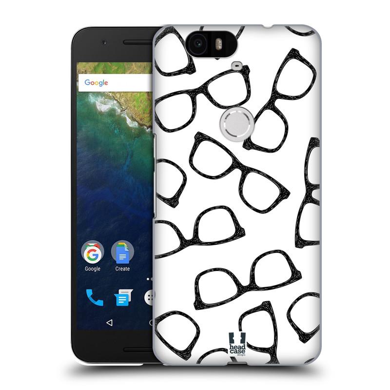 Plastové pouzdro na mobil Huawei Nexus 6P HEAD CASE HIPSTER BRÝLE (Kryt či obal na mobilní telefon Huawei Nexus 6P)
