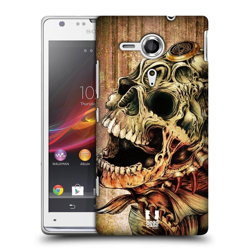 Plastové pouzdro na mobil Sony Xperia SP C5303 HEAD CASE PIRANHA (Kryt či obal na mobilní telefon Sony Xperia SP )