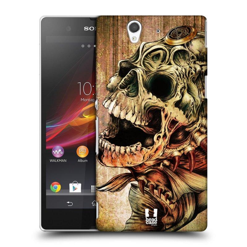 Plastové pouzdro na mobil Sony Xperia Z C6603 HEAD CASE PIRANHA (Kryt či obal na mobilní telefon Sony Xperia Z )