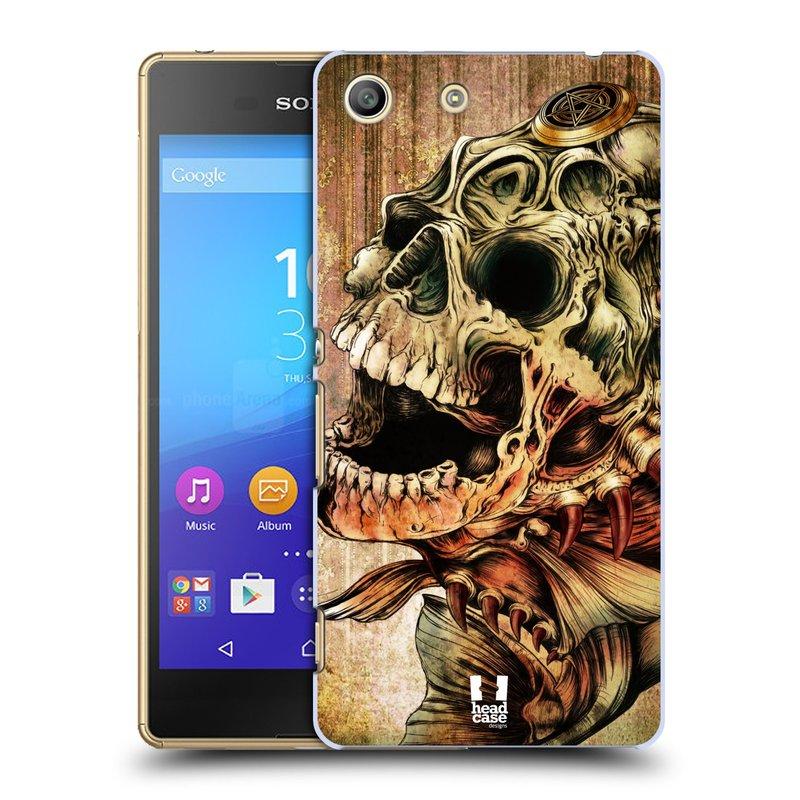 Plastové pouzdro na mobil Sony Xperia M5 HEAD CASE PIRANHA (Kryt či obal na mobilní telefon Sony Xperia M5 Aqua)