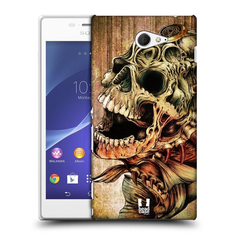 Plastové pouzdro na mobil Sony Xperia M2 D2303 HEAD CASE PIRANHA (Kryt či obal na mobilní telefon Sony Xperia M2 )
