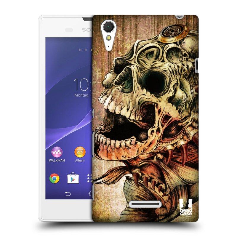 Plastové pouzdro na mobil Sony Xperia T3 D5103 HEAD CASE PIRANHA (Kryt či obal na mobilní telefon Sony Xperia T3 )