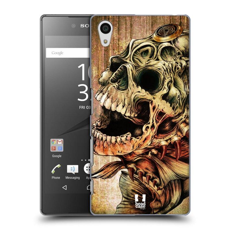 Plastové pouzdro na mobil Sony Xperia Z5 HEAD CASE PIRANHA (Kryt či obal na mobilní telefon Sony Xperia Z5 E6653)