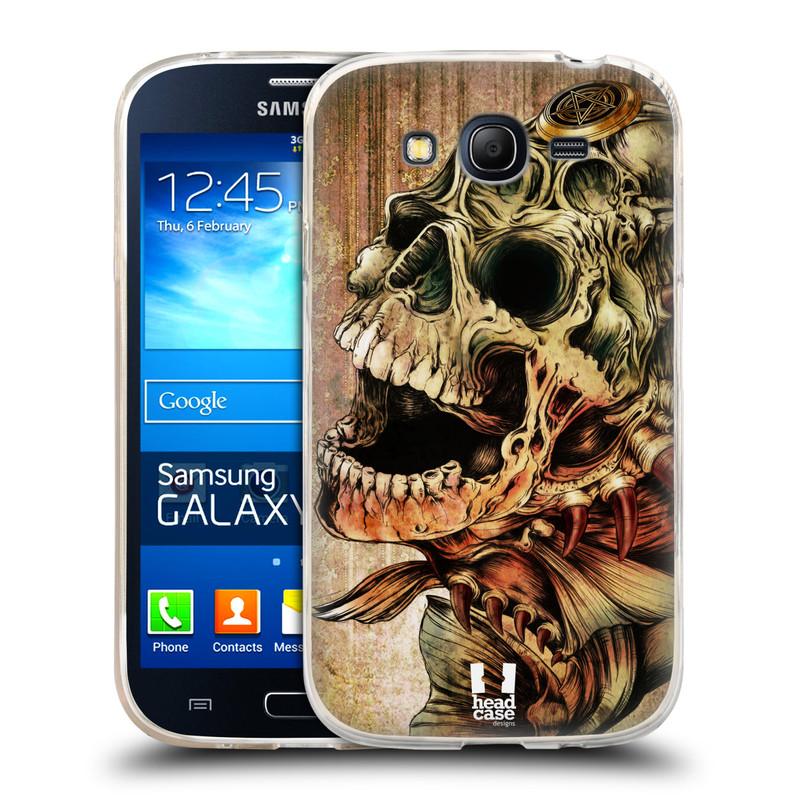 Silikonové pouzdro na mobil Samsung Galaxy Grand Neo Plus HEAD CASE PIRANHA (Silikonový kryt či obal na mobilní telefon Samsung Galaxy Grand Neo Plus Duos GT-I9060i)