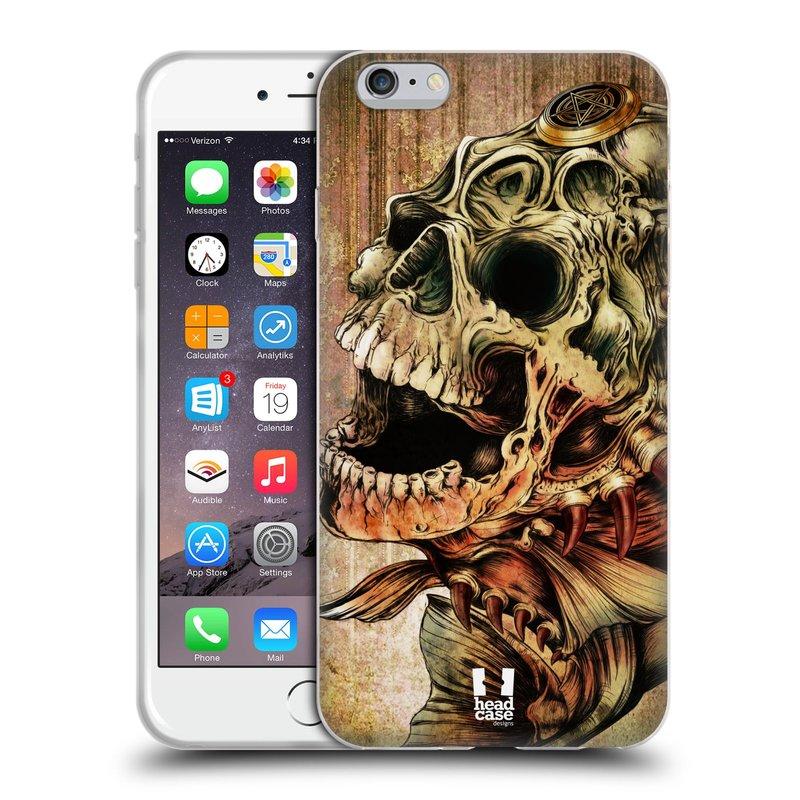 Silikonové pouzdro na mobil Apple iPhone 6 Plus a 6S Plus HEAD CASE PIRANHA (Silikonový kryt či obal na mobilní telefon Apple iPhone 6 Plus a 6S Plus)