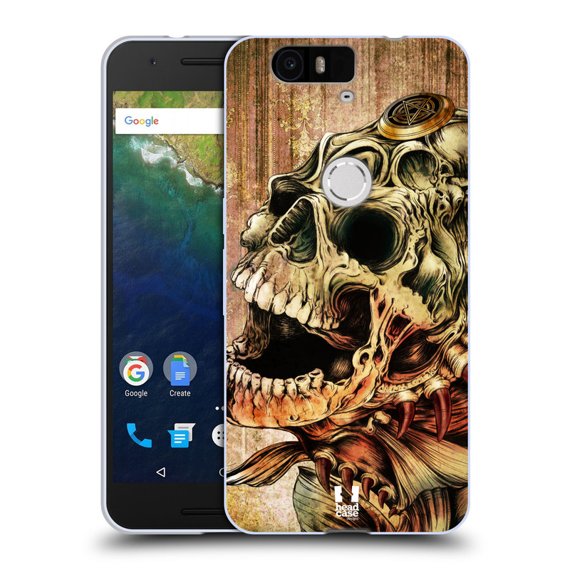 Silikonové pouzdro na mobil Huawei Nexus 6P HEAD CASE PIRANHA (Silikonový kryt či obal na mobilní telefon Huawei Nexus 6P)