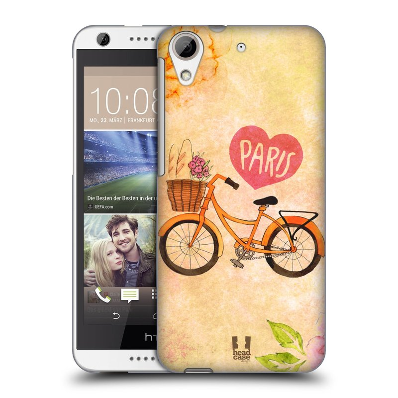 Plastové pouzdro na mobil HTC Desire 626 / 626G HEAD CASE PAŘÍŽ NA KOLE (Kryt či obal na mobilní telefon HTC Desire 626G Dual SIM a HTC Desire 626)