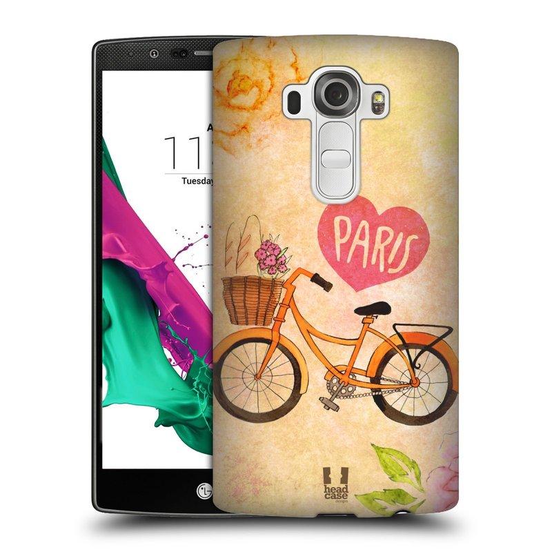 Plastové pouzdro na mobil LG G4 HEAD CASE PAŘÍŽ NA KOLE (Kryt či obal na mobilní telefon LG G4 H815)