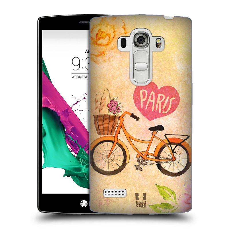 Plastové pouzdro na mobil LG G4s HEAD CASE PAŘÍŽ NA KOLE (Kryt či obal na mobilní telefon LG G4s H735n)