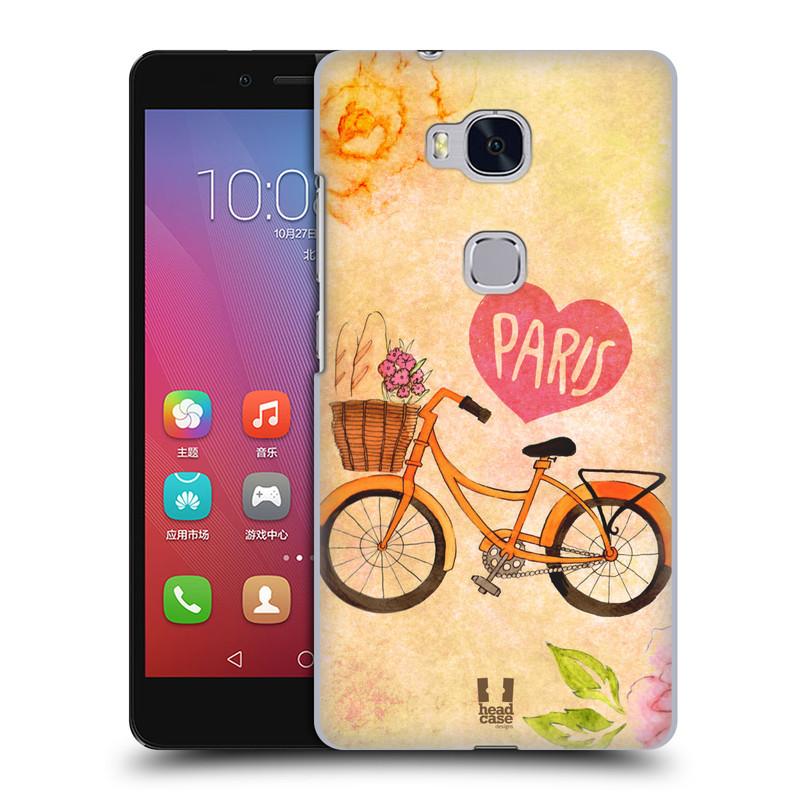 Plastové pouzdro na mobil Honor 5X HEAD CASE PAŘÍŽ NA KOLE (Kryt či obal na mobilní telefon Huawei Honor 5X)