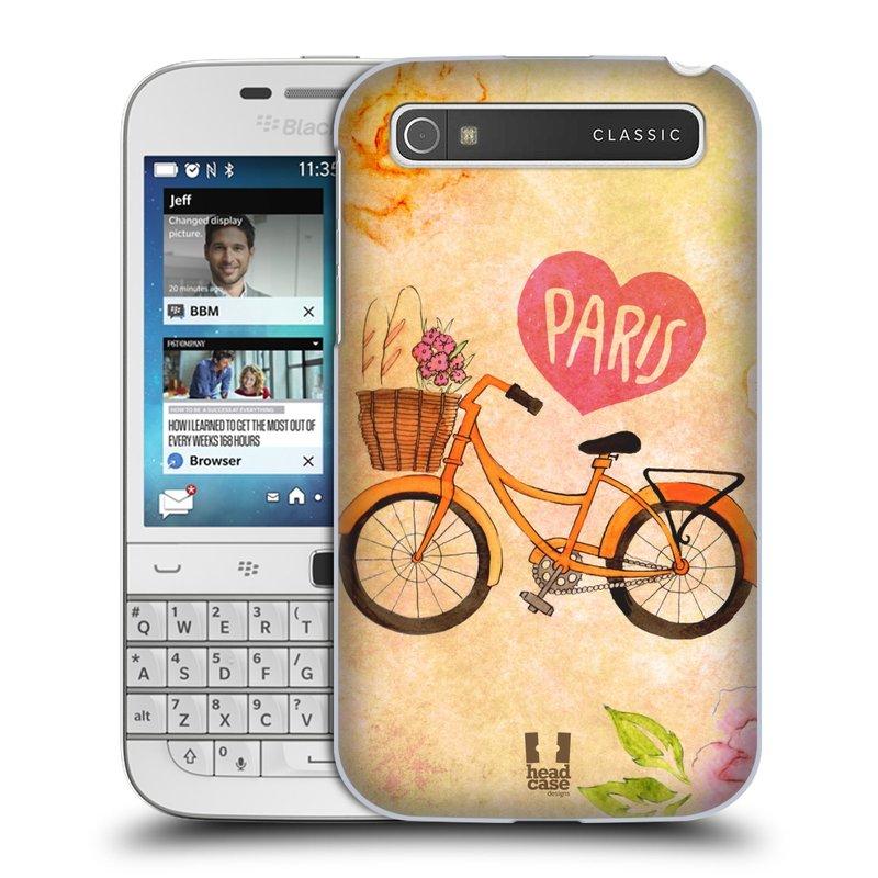 Plastové pouzdro na mobil Blackberry Classic HEAD CASE PAŘÍŽ NA KOLE (Kryt či obal na mobilní telefon Blackberry Classic)