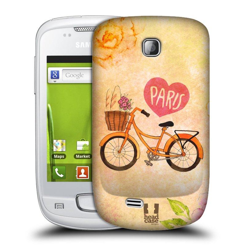 Plastové pouzdro na mobil Samsung Galaxy Mini HEAD CASE PAŘÍŽ NA KOLE (Kryt či obal na mobilní telefon Samsung Galaxy Mini GT-S5570 / GT-S5570i)