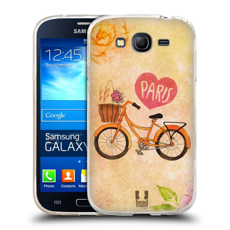 Silikonové pouzdro na mobil Samsung Galaxy Grand Neo HEAD CASE PAŘÍŽ NA KOLE (Silikonový kryt či obal na mobilní telefon Samsung Galaxy Grand Neo GT-I9060)