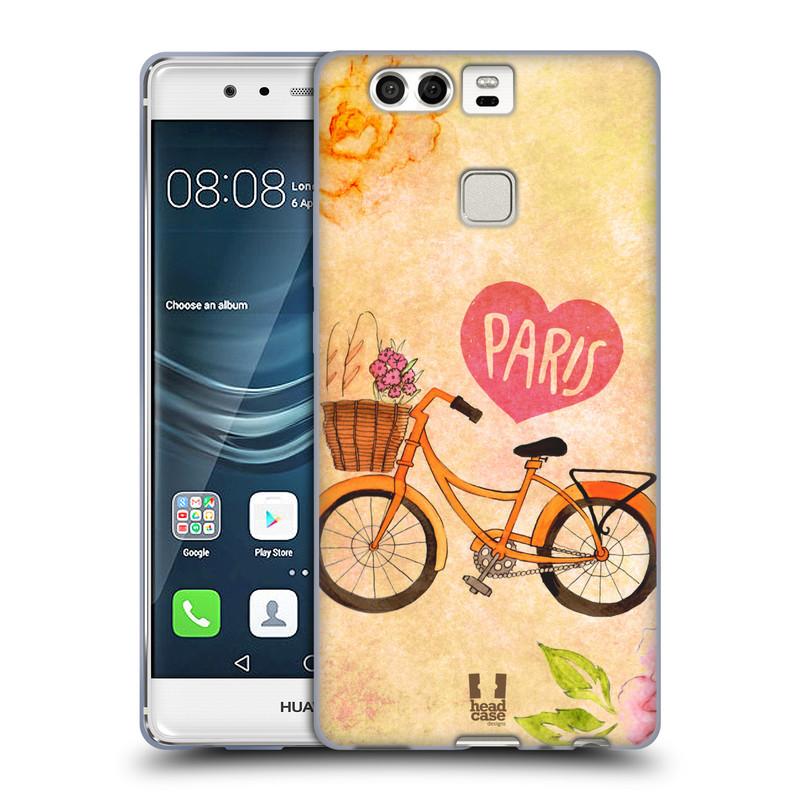 Silikonové pouzdro na mobil Huawei P9 HEAD CASE PAŘÍŽ NA KOLE (Silikonový kryt či obal na mobilní telefon Huawei P9)