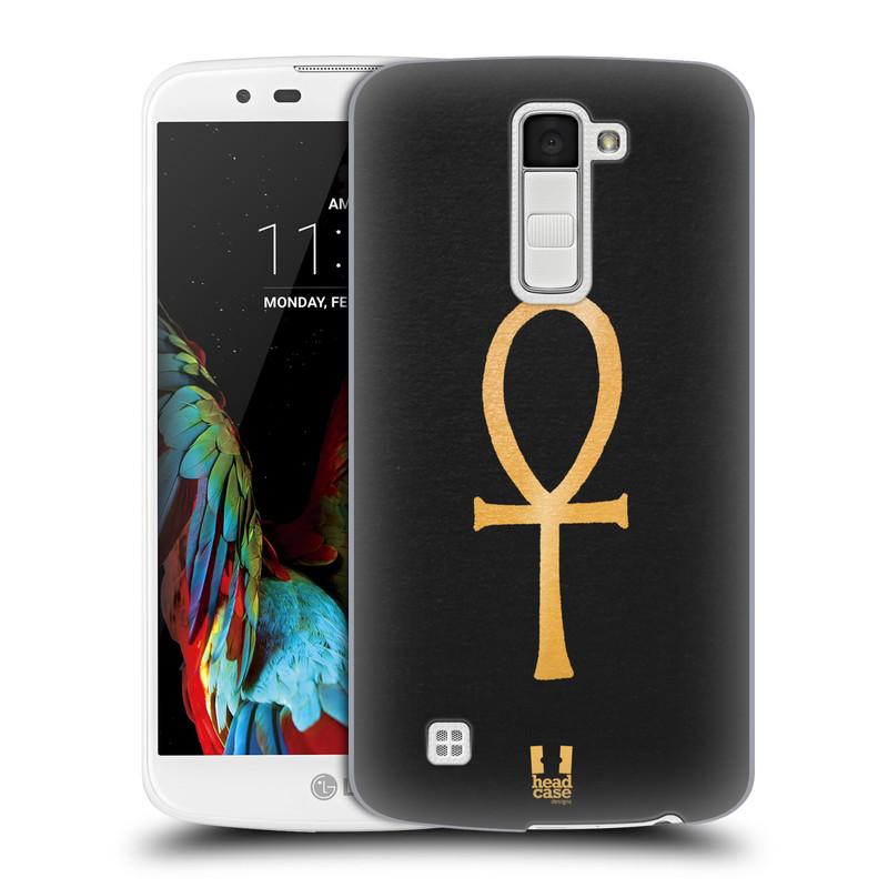Plastové pouzdro na mobil LG K10 HEAD CASE EGYPT ANKH NILSKÝ KŘÍŽ (Kryt či obal na mobilní telefon LG K10)