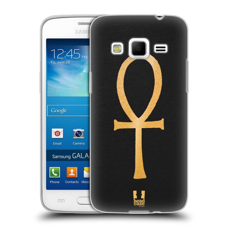 Silikonové pouzdro na mobil Samsung Galaxy Express 2 HEAD CASE EGYPT ANKH NILSKÝ KŘÍŽ (Silikonový kryt či obal na mobilní telefon Samsung Galaxy Express 2 SM-G3815)