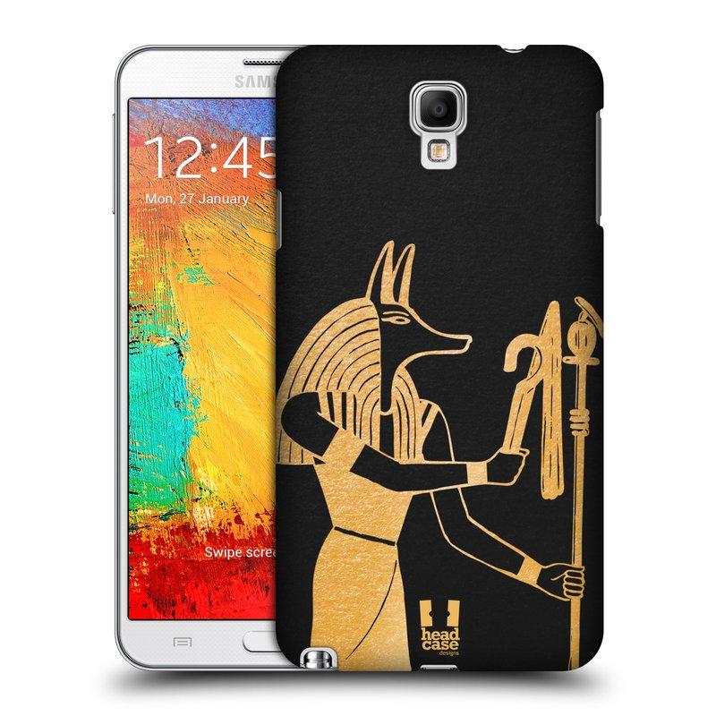 Plastové pouzdro na mobil Samsung Galaxy Note 3 Neo HEAD CASE EGYPT ANUBIS (Kryt či obal na mobilní telefon Samsung Galaxy Note 3 Neo SM-N7505)