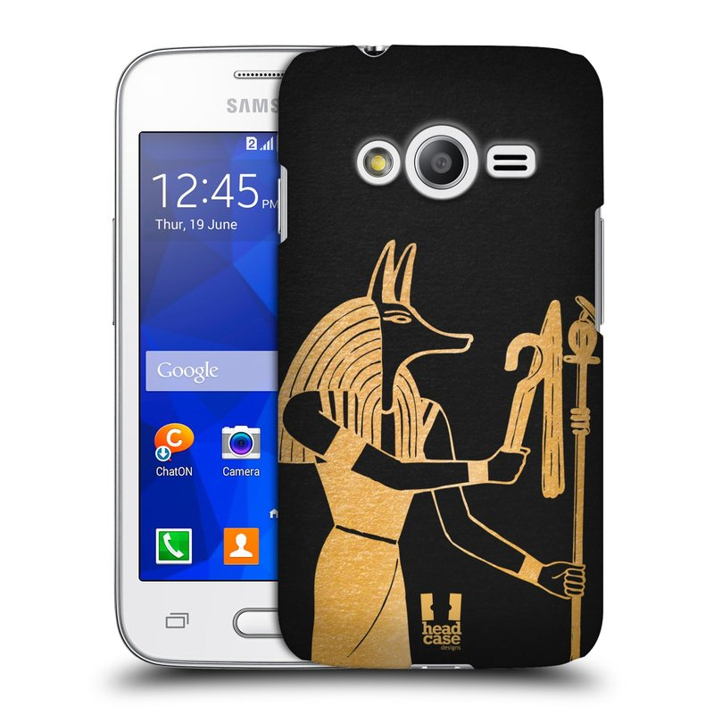 Plastové pouzdro na mobil Samsung Galaxy Trend 2 Lite HEAD CASE EGYPT ANUBIS (Kryt či obal na mobilní telefon Samsung Galaxy Trend 2 Lite SM-G318)