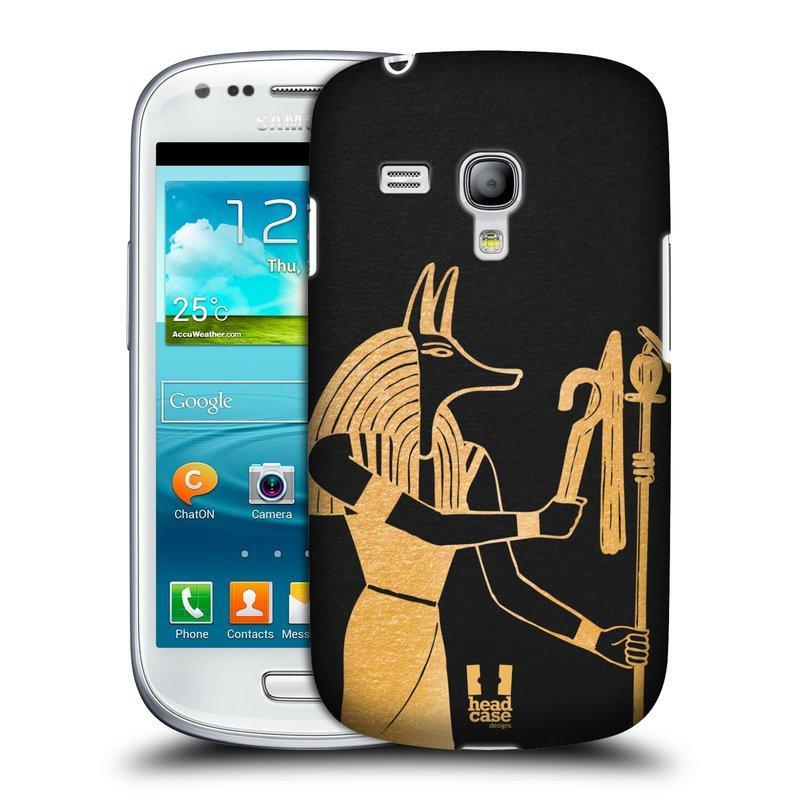 Plastové pouzdro na mobil Samsung Galaxy S III Mini HEAD CASE EGYPT ANUBIS (Kryt či obal na mobilní telefon Samsung Galaxy S III Mini GT-i8190)