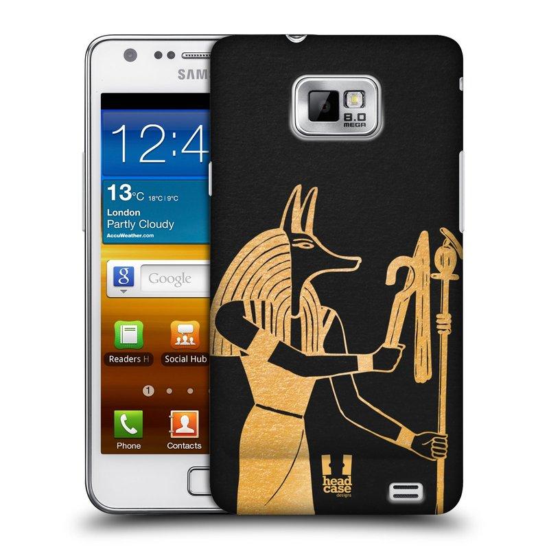 Plastové pouzdro na mobil Samsung Galaxy S II HEAD CASE EGYPT ANUBIS (Kryt či obal na mobilní telefon Samsung Galaxy S II GT-i9100)