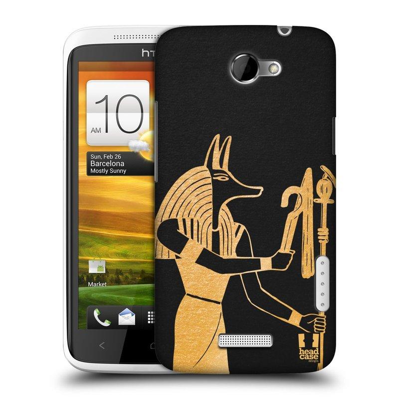 Plastové pouzdro na mobil HTC ONE X HEAD CASE EGYPT ANUBIS (Kryt či obal na mobilní telefon HTC ONE X)